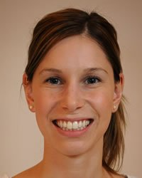 Krista Smith M.PT, CAFCI physiotherapist at the Kelowna downtown location.